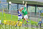 Gary O'Brien Ballyduff v Conor Flaherty Saint Brendans on the Semi finals of the County Senior Hurling County Championship at Austin Stack Park, Tralee, on Sunday.