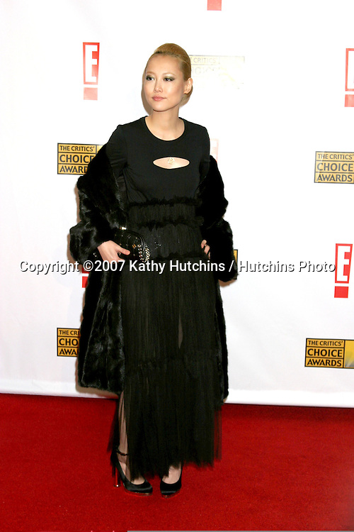 Rinko Kikuchi .12th Annual Critics' Choice Awards - Arrivals.Santa Monica Civic Center.Santa Monica, California United States.January 12, 2007.©2007 Kathy Hutchins / Hutchins Photo.