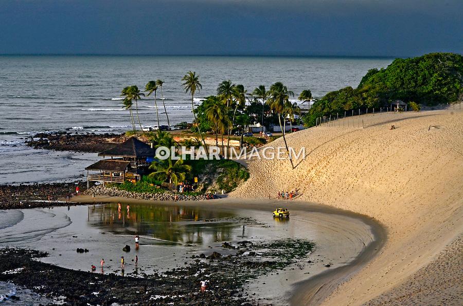 Praia de Genipabu em Natal. Rio Grande do Norte. 2012. Foto de Juca Martins.