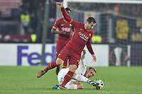Henrikh Mkhitaryan AS Roma, Sven Sprangler Wolfsberger <br /> Roma 12-12-2019 Stadio Olimpico <br /> Football Europa League 2019/2020 Group J <br /> AS Roma -  Wolfsberger AC <br /> Photo Antonietta Baldassarre / Insidefoto