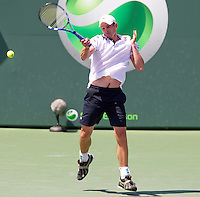 Andy RODDICK (USA) against Tomas BERDYCH (CZE) in the final of the men's finals. Andy Roddick beat Tomas Berdych 7-5 6-4..International Tennis - 2010 ATP World Tour - Sony Ericsson Open - Crandon Park Tennis Center - Key Biscayne - Miami - Florida - USA - Sun 4 Mar 2010..© Frey - Amn Images, Level 1, Barry House, 20-22 Worple Road, London, SW19 4DH, UK .Tel - +44 20 8947 0100.Fax -+44 20 8947 0117