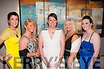 Georgous<br /> -------------<br /> Looking their best at the Tralee IT Sports and Societies annual ball in the Ballyroe Hts Hotel last Thursday were L-R Martina Quirke,Hollie O Byrne,Amy Clarke,Norma Lee and Sharon Williams