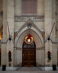 MC 12.26.16 Basilica Wreath 02.JPG by Matt Cashore/University of Notre Dame