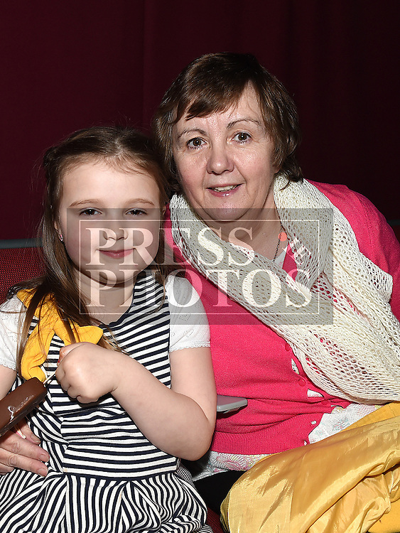 Geraldine Shevlin and her grandaughter Freya Devlin pictured at Naomh Fionnbarra strictly come dancing in the TLT. Photo:Colin Bell/pressphotos.ie