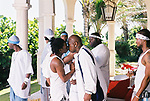 "Lil Wayne Kissing Birdman on the set of the of Birdman's video shoot ""Do That"" featuring P. Diddy in Deerfield Beach, Florida on May 2, 2002.  Photo credit: Elgin Edmonds / Presswire News"