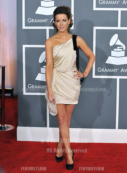 Kate Beckinsale at the 54th Annual Grammy Awards at the Staples Centre, Los Angeles..February 12, 2012  Los Angeles, CA.Picture: Paul Smith / Featureflash