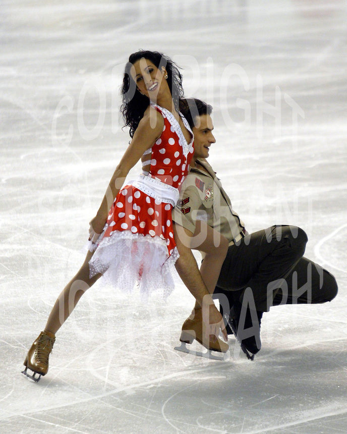 Marie-France Dubreuil and Patrice Lauzon Canada. 2004 Four Continents Championships. Photo Scott Grant