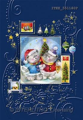 Isabella, CHRISTMAS ANIMALS, paintings(ITKE551180,#XA#) Weihnachten, Navidad, illustrations, pinturas