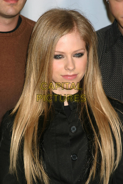 AVRIL LAVIGNE.Conde' Nast Media Group Presents Fashion Rocks 2004   Radio City Music Hall in New York City..September 8, 2004 .headshot, portrait, smoky eyes.www.capitalpictures.com.sales@capitalpictures.com.© Capital Pictures
