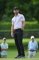 Paul Casey (GBR) barely misses his birdie putt on 6 during round 1 of the 2019 Charles Schwab Challenge, Colonial Country Club, Ft. Worth, Texas,  USA. 5/23/2019.<br /> Picture: Golffile | Ken Murray<br /> <br /> All photo usage must carry mandatory copyright credit (© Golffile | Ken Murray)