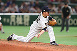 Kazuhisa Makita (JPN), <br /> MARCH 15, 2017 - WBC : <br /> 2017 World Baseball Classic <br /> Second Round Pool E Game <br /> between Japan 8-3 Israel <br /> at Tokyo Dome in Tokyo, Japan. <br /> (Photo by YUTAKA/AFLO SPORT)