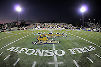 17 September 2011:  The logo at midfield.  The FIU Golden Panthers defeated the University of Central Florida Golden Knights, 17-10, at FIU Stadium in Miami, Florida.