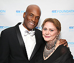 Kenny Leon and Elizabeth Ashley attends the SDC Foundation presents The Mr. Abbott Award honoring Kenny Leon at ESPACE on March 27, 2017 in New York City.