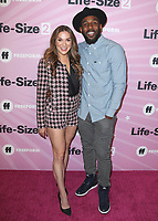 """HOLLYWOOD - NOVEMBER 27:  Allison Holker and Stephen 'tWitch' Boss at the """"Life Size 2"""" World Premiere on November 27, 2018 at the Hollywood Roosevelt Hotel in Hollywood, California. (Photo by Scott Kirkland/PictureGroup)"""