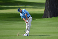 Jim Furyk (USA) hits his approach shot on 2 during round 2 of the 2019 Charles Schwab Challenge, Colonial Country Club, Ft. Worth, Texas,  USA. 5/24/2019.<br /> Picture: Golffile   Ken Murray<br /> <br /> All photo usage must carry mandatory copyright credit (© Golffile   Ken Murray)
