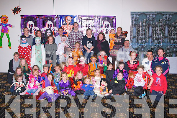HALLOWEEN: Dressed up in their Halloween Fancy Dress on Saturday in The Earl of Desmond Hotel, Tralee were children of Spinal Bifida Hydrocophalus.