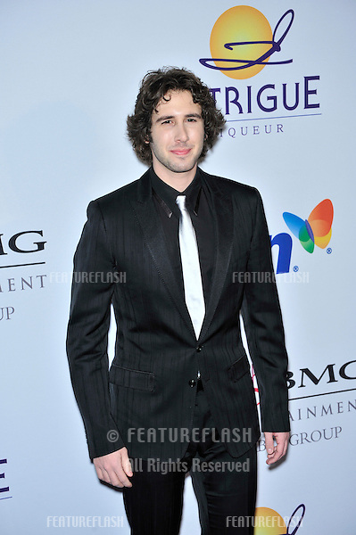Josh Groban at music mogul Clive Davis' annual pre-Grammy party at the Beverly Hilton Hotel..February 9, 2008  Los Angeles, CA.Picture: Paul Smith / Featureflash
