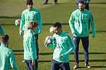 Real Madrid's Benzema, Modric, Hazard and Casemiro during training session. <br /> November 25 ,2019.<br /> (ALTERPHOTOS/David Jar)