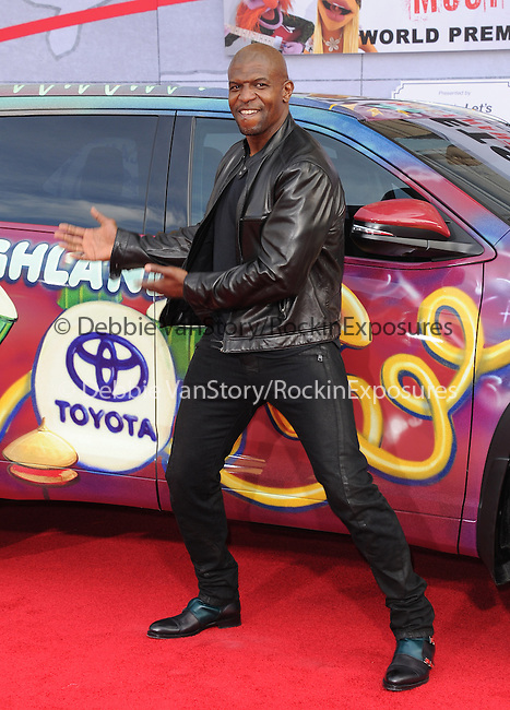 Terry Crews attends Disney's Muppets Most Wanted World Premiere held at The El Capitan Theatre in Hollywood, California on March 11,2014                                                                               © 2014 Hollywood Press Agency