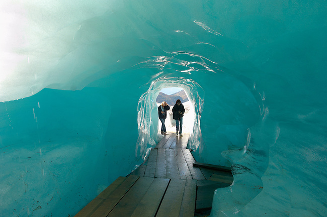 Inside the Rhone Glacier - The start of the Rhone River - Switzerland