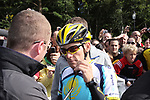 Astana team rider Lance Armstrong (USA) at sign on before the start of  Stage1 at the Ritz-Carlton Hotel Powerscourt, Enniskerry, the 2009 Tour of Ireland, 21st August 2009 (Photo by Eoin Clarke/NEWSFILE)