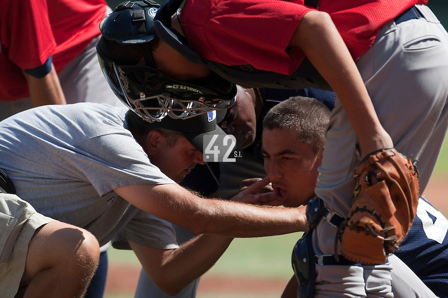 Baseball - MLB European Academy - Tirrenia (Italy) - 20/08/2009 - Ulf Eisenhuth (Spain)