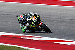 Moto GP and Moto2 riders practice before the Red Bull Grand Prix of the Americas race, at the Circuit of the Americas racetrack in Austin,Texas.