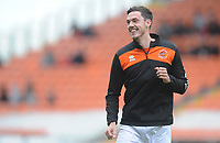 Blackpool's Ben Heneghan during the pre-match warm-up <br /> <br /> Photographer Kevin Barnes/CameraSport<br /> <br /> The EFL Sky Bet League One - Blackpool v Gillingham - Saturday 4th May 2019 - Bloomfield Road - Blackpool<br /> <br /> World Copyright © 2019 CameraSport. All rights reserved. 43 Linden Ave. Countesthorpe. Leicester. England. LE8 5PG - Tel: +44 (0) 116 277 4147 - admin@camerasport.com - www.camerasport.com