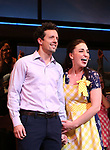 Sara Bareilles returns to Broadway's 'Waitress' starring with Jason Mraz at the Brooks Atkinson Theatre on January 16, 2018 in New York City.