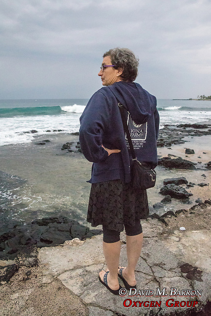 Debora Mayer Morning Coffee & Walk, Kona Seaside