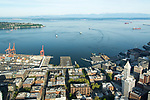 Pioneer neighborhood and Elliott Bay