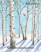 Ingrid, CHRISTMAS LANDSCAPES, WEIHNACHTEN WINTERLANDSCHAFTEN, NAVIDAD PAISAJES DE INVIERNO,birches paintings+++++,USISPROV15,#xl#
