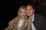 """One Life To Live Judith Light """"Karen Wolek"""" poses with As The World Turns Thomas Sadoski """"Jesse Calhoun"""" stars in Other Desert Cities as they attend the 25th Annual Broadway Flea Market & Grand Auction to benefit Broadway Cares/Equity Fights Aids on September 25, 2011 in New York CIty, New York.  (Photo by Sue Coflin/Max Photos)"""