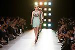 October 17, 2011: Tokyo, Japan - Models walk down the catwalk wearing G.V.G.V. during Mercedes-Benz Fashion Week Tokyo 2012 Spring/Summer. The Mercedes-Benz Fashion Week Tokyo runs from October 16-22. (Photo by Christopher Jue/AFLO)
