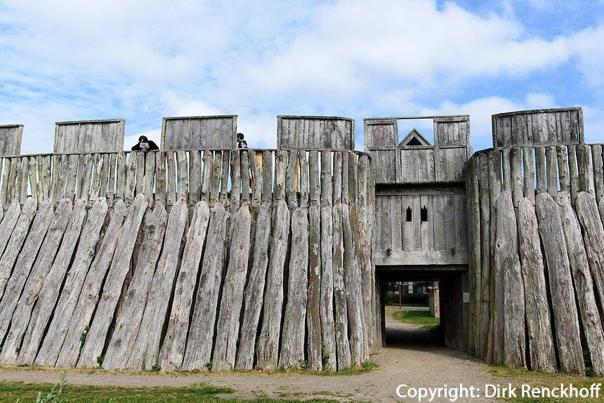 Wikingerburg Trelleborgen, Trelleborg, Provinz Sk&aring;ne (Schonen), Schweden, Europa<br /> viking Casle Trelleborgen  in Trelleborg, Sweden
