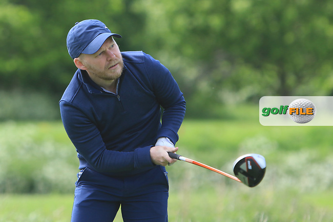 Derek Turkington (Massereene) on the 15th tee during Round 4 of the Ulster Stroke Play Championships at Galgorm Castle Golf Club, Ballymena, Northern Ireland. 28/05/19<br /> <br /> Picture: Thos Caffrey / Golffile<br /> <br /> All photos usage must carry mandatory copyright credit (© Golffile | Thos Caffrey)