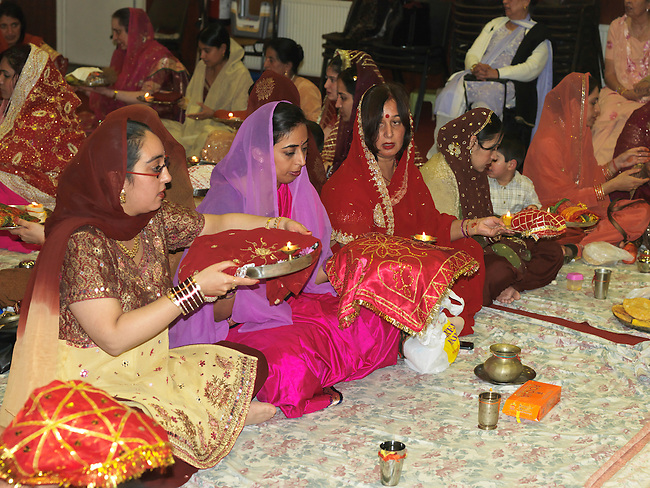 Karva Chauth  is the festival observed by the married women who fast all day for the long Life of their Husbands