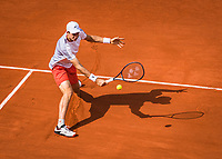 Paris, France, 27 May, 2019, Tennis, French Open, Roland Garros, Hubert Hurkacz (POL)<br /> Photo: Henk Koster/tennisimages.com