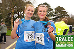 Laura Daly 73, Ita Daly 74, who took part in the Kerry's Eye Tralee International Marathon on Sunday 16th March 2014.