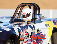 Jul 28, 2017; Sonoma, CA, USA; NHRA super gas driver Gary Hardee during qualifying for the Sonoma Nationals at Sonoma Raceway. Mandatory Credit: Mark J. Rebilas-USA TODAY Sports