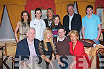 ENGAGEMENT: Claire O'Mahony, Ard Na Li?, Oakpark and Dave Stafford, Wexford celebrating their engagement with family and friends at Meadowlands Hotel on Saturday seated l-r: Pat and Claire O'Mahony, Dave Stafford and Margaret O'Mahony. Back l-r: Jennifer O'Mahony, Gregory, Helen, Katie and Tadgh Cronin and Ken O'Mahony..   Copyright Kerry's Eye 2008