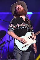 11 June 2017 - Nashville, Tennessee - John Osborne, Brothers Osborne. 2017 CMA Music Festival Nightly Concert held at Nissan Stadium. Photo Credit: Dara-Michelle Farr/AdMedia