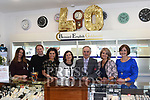 Bernard and Gay English with their staff Emma Smith, Rob Clifford, Nicola Mooney, Olwyn McGinn and Emily Mullen celebrating 40 years in business. Photo:Colin Bell/pressphotos.ie