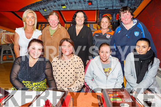 Theresa Roche from Tralee celebrating her birthday in Ristorante Uno on Thursday.<br /> Seated l to r: Amy, Theresa, Anette and Nicole Roche.<br /> Back l to r: Niamh Casey, Avrin Enright, Katie Flynn, Ann Marie Duggan and Martina Griffin.
