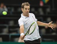 12-02-14, Netherlands,Rotterdam,Ahoy, ABNAMROWTT, Richard Gasquet(FRA)<br /> Photo:Tennisimages/Henk Koster