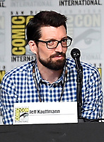SAN DIEGO COMIC-CON© 2019:  L-R: 20th Century Fox Television's AMERICAN DAD Writer/Cast Member Jeff Kauffmann during the AMERICAN DAD panel on Saturday, July 20 at the SAN DIEGO COMIC-CON© 2019. CR: Frank Micelotta/20th Century Fox Television