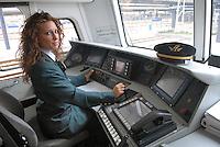 - Trenitalia, train driver woman....- Trenitalia, conduttrice di treno