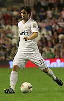 2.05.2012. Bilbao, Spain. La Liga. Real Madrid beat Athelicto de Bilbao 0-3 at San Mames stadium  and   is new La Liga championship. Picture show Granero