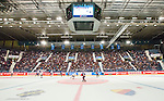 Stockholm 2014-09-05 Ishockey CHL Djurg&aring;rdens IF - Eisb&auml;ren Berlin :  <br /> Vy &ouml;ver Hovet under matchen med publik p&aring; l&auml;ktarna<br /> (Foto: Kenta J&ouml;nsson) Nyckelord:  Djurg&aring;rden Hockey Hovet CHL Eisb&auml;ren Berlin supporter fans publik supporters inomhus interi&ouml;r interior