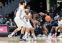 WASHINGTON, DC - JANUARY 28:  during a game between Butler and Georgetown at Capital One Arena on January 28, 2020 in Washington, DC.